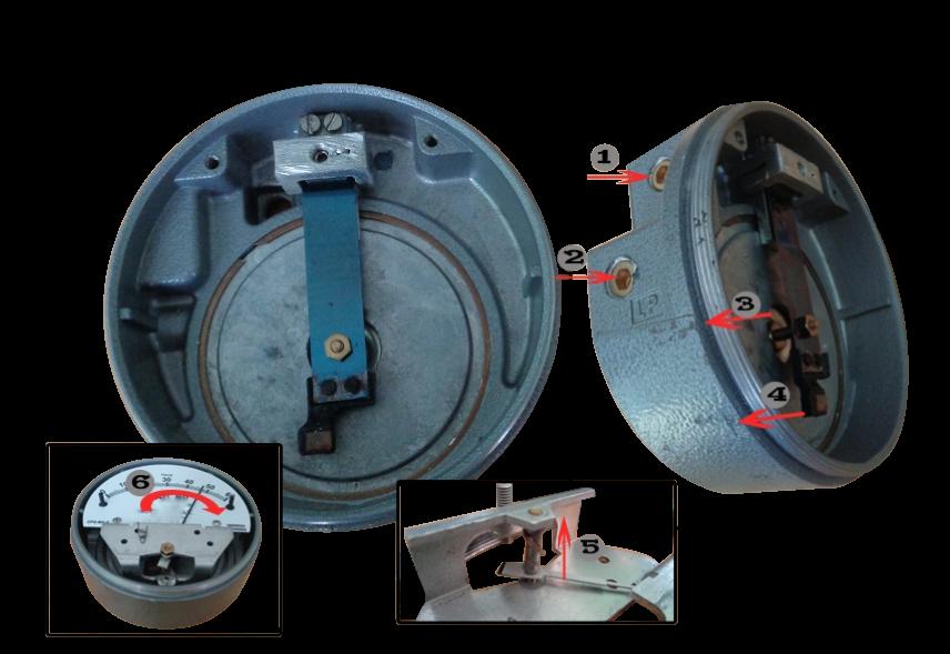 Differential pressure gauge