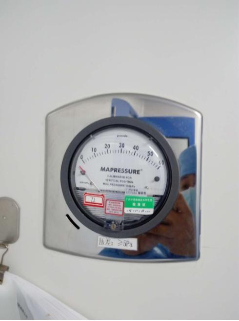 differential pressure gauge calibration